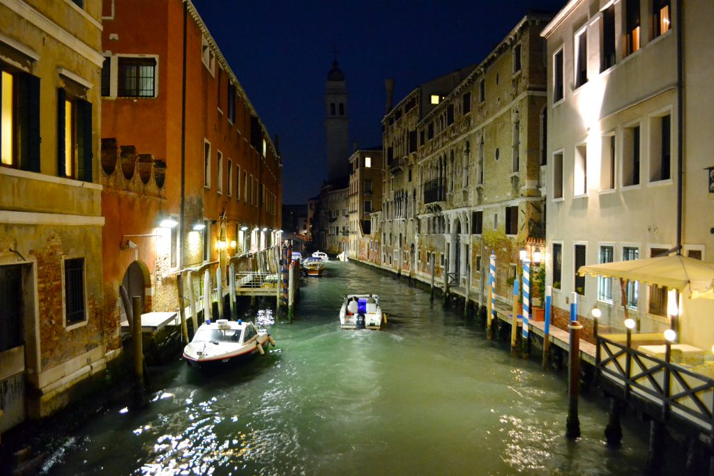 Venice Italy at Night