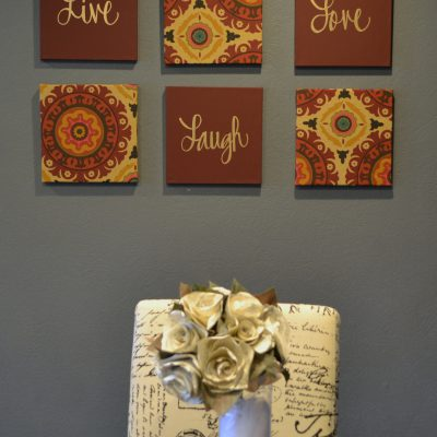 6 piece canvas painting