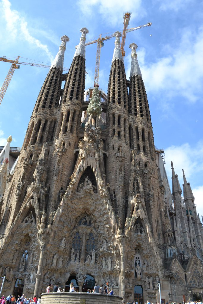 La Sagrada Familia Cathedral Barcelona