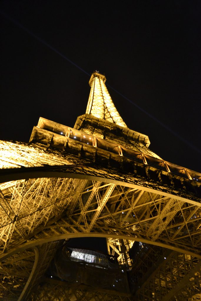 Eiffel Tower Paris at Night