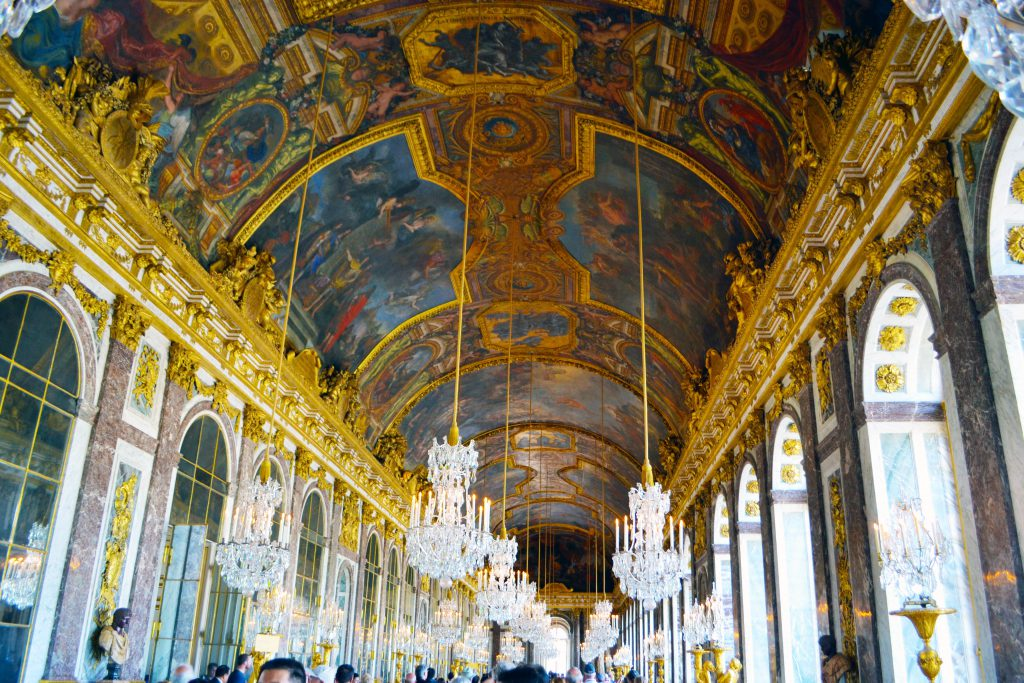 Versaille Palace Hall of Mirrors