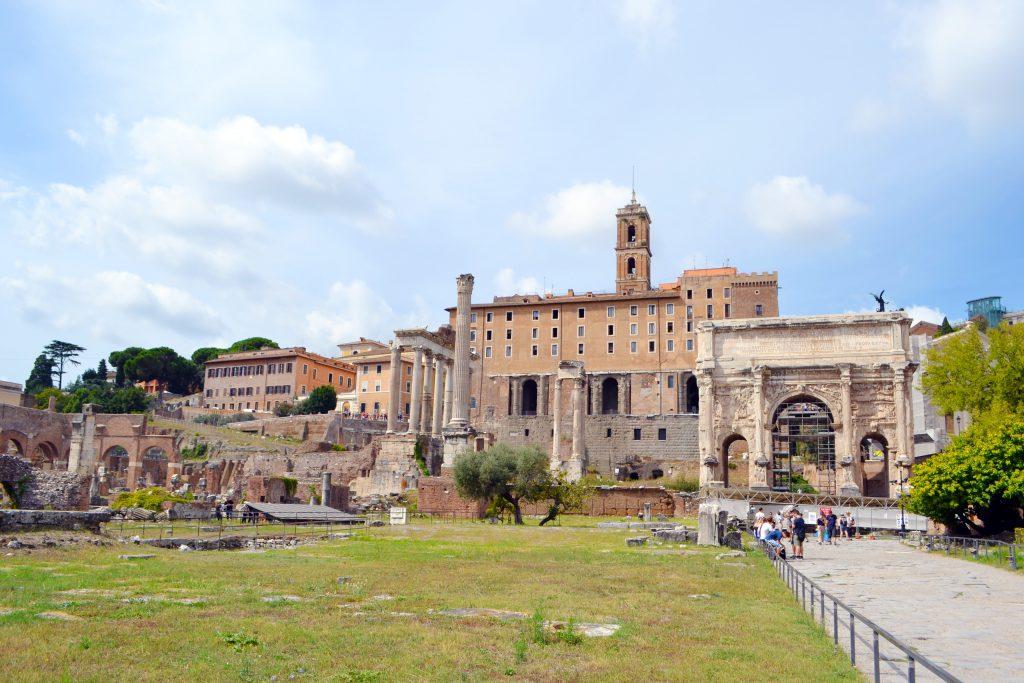 The Roman Forum Italy