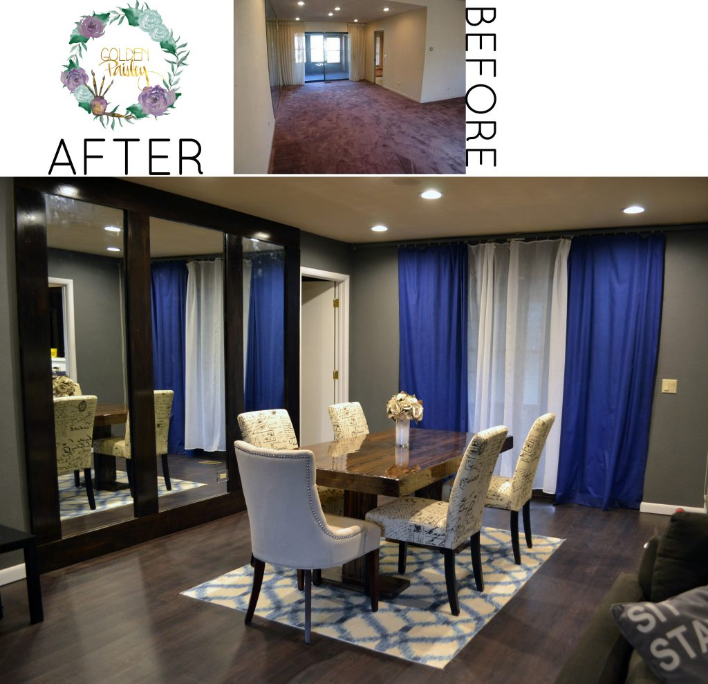 fixer upper before and after living room our fixer before and after living room dining room 566