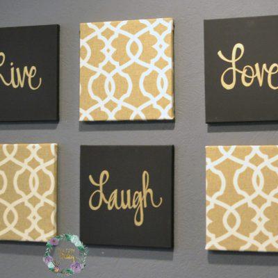 6 piece wall art set