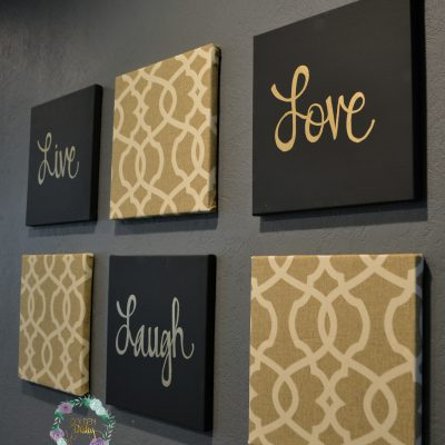 inspirational wall art set