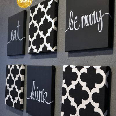 eat drink be merry wall decor