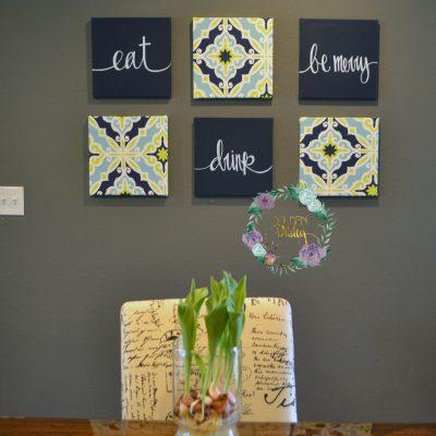 canvas painting set