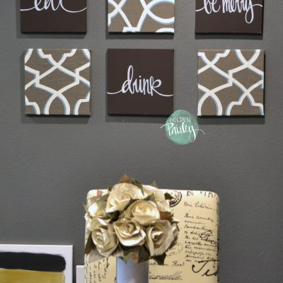 wall art 6 pack set