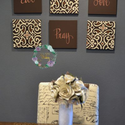 eat pray love wall art set canvas decor