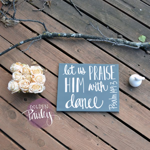 bible verse quote painting