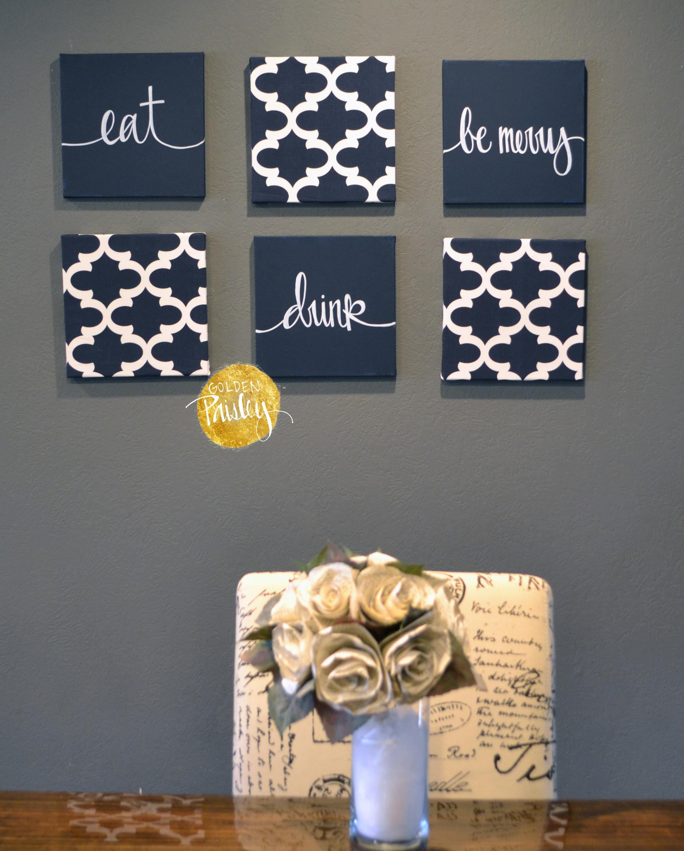 Olive Kitchen Art Set