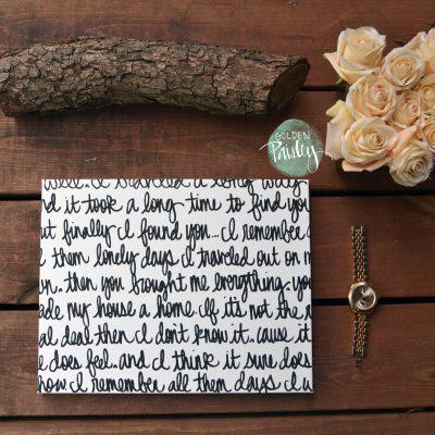 custom wedding decoration sign