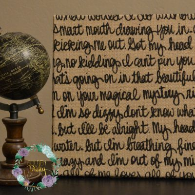 burlap wedding decoration