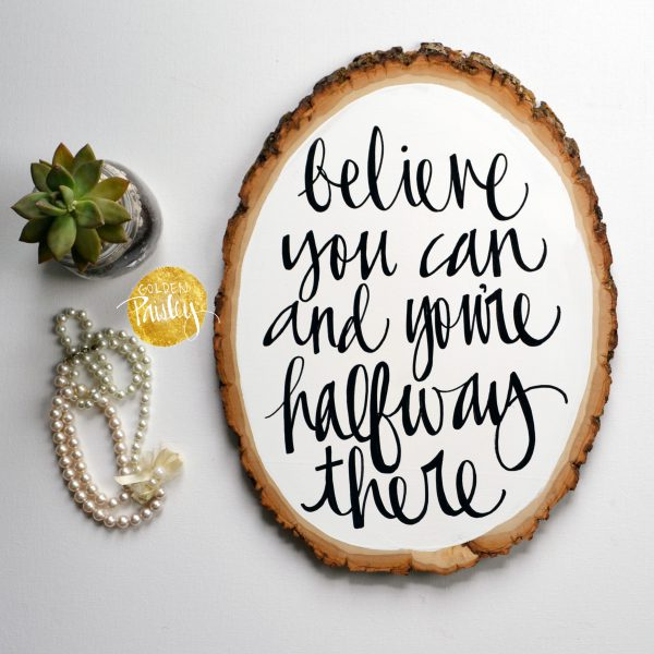 inspirational quote art