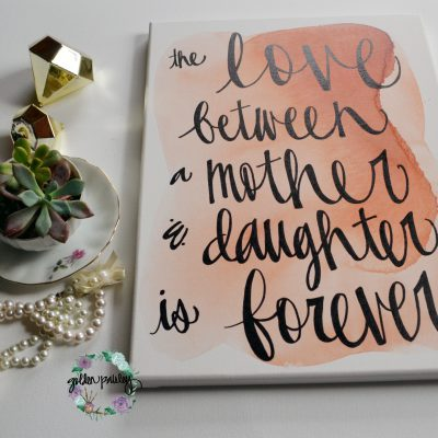 mommy and me mothers day gift idea