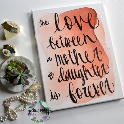 mothers day gift idea mom sign