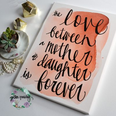 mothers day mom sign gift idea